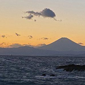 配達終了時にて😀富士山が綺麗でした♪