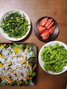 ぴこ市場店の新鮮野菜♪毎日晩酌😀